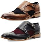 New Goodwin Smith Rishton Monk Strap Mens Brogue Shoes ALL SIZES AND COLOURS