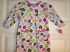 L@@K!  Carters 1pc Floral Brushed Fleece Outfit  Size 6M Infant Girl's
