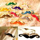 Designer Ladies Gift Two Accessories Mustache Double Finger Adjustable Ring