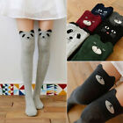 Hot Womens Knitting Cat Knee Thigh High Stockings Over Knee Sock Pantyhose Tight