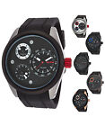 Red Line Men's Jetstream Multi-Function Watch with Black Silicone Band