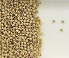 14K Gold Filled 2mm Seamless Round Spacer Beads, Choice of Quantity 20-250