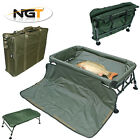 NGT Carp Cradle + FREE Forceps – Fully Adjustable Legs with Optional Carry Bag