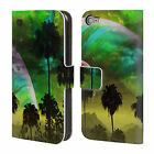 OFFICIAL HAROULITA FANTASY 4 LEATHER BOOK WALLET CASE FOR APPLE iPOD TOUCH MP3