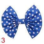 Cotton Toddler Stripe Dot Cartoon Baby Hair Clip Bow Knot Hairpin Barrette