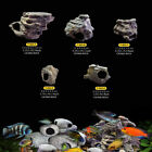 Cichlid Stones Ceramic Aquarium Rock Shrimp Breeding Cave decor for Fish Tank