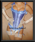 Steel Corset Heavy Shaper Lace up Back Fast Shipping from NEW YORK Sz  S - 2XL