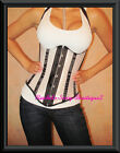 Corset Top Cupless Underbust Lace up Back Fast Ship from NEW YORK Sz S-2X