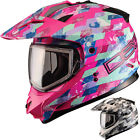 GMax GM11S Checked Out Snow Sport Sled Cold Weather Womens Snowmobile Helmets