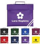 Personalised Flower Themed Book Bag - 8 Colours - Fantastic Gift