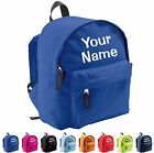 Personalised Kids Backpack - Nursery School Bag - Childrens Rucksack