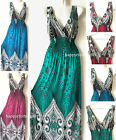 Fashion Women Summer Sleeveless Evening Party Beach Long Maxi Sundress Dress HOT