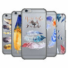 OFFICIAL KRISTINA KVILIS FEATHERS 2 HARD BACK CASE FOR APPLE iPHONE PHONES