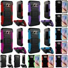Hybrid Heavy Duty Armor Stand Holster Case Cover Skin For Samsung Galaxy S6