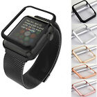Aluminum Metal Frame Covers Protector For iWatch Apple Watch 38mm 42mm