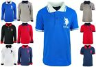 New Boys US Polo Assn Short & Long Sleeve T Shirts Branded Tops Age 3 to 12