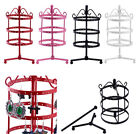 72 Holes Metal Earrings Ear Stud Jewelry Stand Holder Show Rack Hanger Organizer