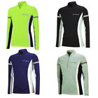AIRTRACKS Winter Laufshirt Langarm / Thermo Funktionsshirt / Fleece Sweatshirt