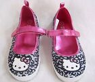 NEW HELLO KITTY GIRLS SPARKLY LEOPARD SHOES  13, 1, 2, 3