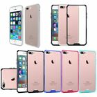 For iPhone 8 7 / 7 Plus Case Crystal Clear Bumper Snap-on Hard Shockproof Cover