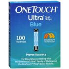 NEW 100 ONE TOUCH ULTRA BLUE TEST STRIPS 1 box,  EXP 04 2018 BLOOD GLUCOSE DIABE