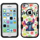 Disney Lilo & Stitch Ohana Hybrid Hard Armor Case for iPhone 5s/SE/6/6s/7/Plus