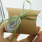 50Pcs Cute Pillow Anti-Scratch Box Sweet Wedding Party Favour Gift Candy Boxes