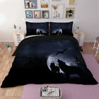 Cartoon Doona Duvet Quilt Cover Set Queen/King Size Nightmare Before Christmas