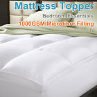 ALL SIZE 1000GSM Luxury Prime Pillowtop Mattress Topper----100% Cotton Cover