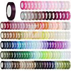 "25 Yards 5/8""15mm Satin Ribbon Craft Bow Wedding Party Decoration DIY Lots BWRN4"