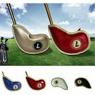 10Pcs Golf Iron Head Cover Head Cover with Closure Thick PU Leather Club Heads