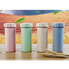 450ml ECO Nature Wheat Straw Portable Water Bottle Drink Container Cup Mug Gift