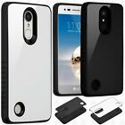 Alcatel Idol 4S Premium Leather 2 Tone Wallet Pouch Flip Cover +Screen Protector