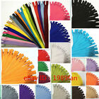 Colorful Nylon 3# Invisible Zippers 12 inch (30cm) Tailor Sewing Craft 20 Color