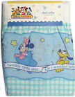 Nursery Dust Ruffle Crib Bed Skirt Disney Baby Mickey Minnie Mouse Picnic Time