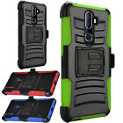 For Samsung Galaxy J3 Emerge Leather Premium Wallet Case Pouch Flip Phone Cover