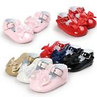 0-18M Infant Baby Girl Kid Bowknot Shoes Toddler Anti-slip Prewalker Party Shoes