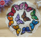 10Colors Beauty Butterfly Patches Ropa For Clothing Applique Embroidery Parches