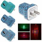5V/1A LED USB Wall Charger Home Travel Power Adapter US Plug For Samsung iPhone