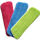 Replacement Microfiber Pads Spray Water Spraying Flat Dust Mop Floor Cleaning