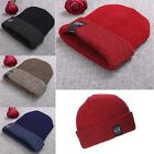 New Unisex Women Men Fashion Stretch Knit Hat Beanie Double Cuffed Hat
