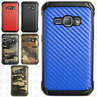 For Samsung Galaxy Luna Rubber IMPACT TRI HYBRID Hard Case Skin Phone Cover