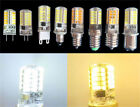 E11/E14/E12/E17/BA15d/G4/G9/G8 110V/220V 3W 40SMD Led Light Silicone White/Warm