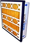 """PRACTICAL PLEAT 5"""" PLEATED FILTER fits in 1"""" RETURN GRILLE ~ MERV 14 or 11"""