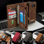 Removable Leather Flip Wallet Purse Case Cover For Samsung Galaxy S7/ Edge S001