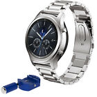Metal Watch Strap Bracelet Band+ Tool Set For Samsung Gear S3 Classic/Frontier .