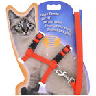 Cat Harness Leash Nylon For Cat Adjustable Pet Traction Harness Belt Cat Collar
