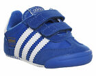Kids Adidas Dragon Crib BLUE WHITE Kids