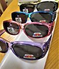 1 Pair Fit over Polarized Sunglasses with crystals  Black Wine Purple Blue frame
