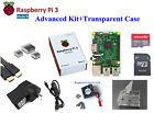 US Raspberry Pi 3 Model B Basic/Starter/Advanced/Premium Kit HDMI/Case/Keyboard